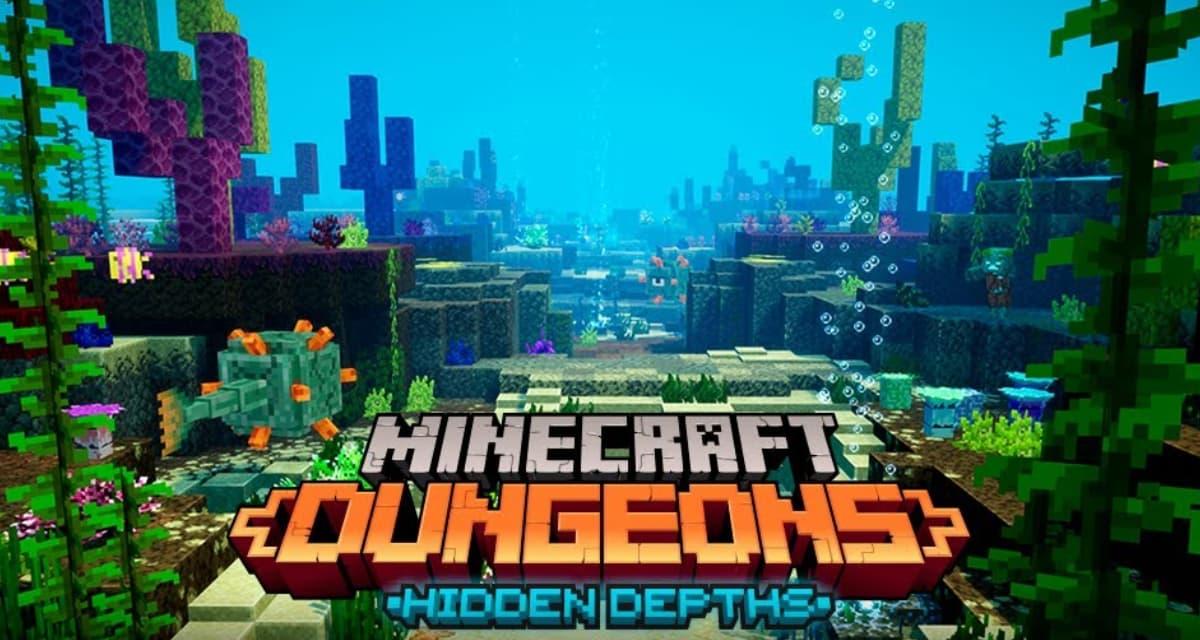 Minecraft Dungeons : Nouveau DLC « Les profondeurs cachées » et contenu gratuit