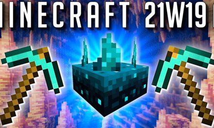 Minecraft Snapshot 21w19a en vidéo