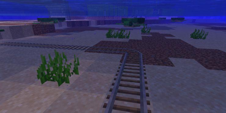 Les rails ne se brisent pas dans l'eau