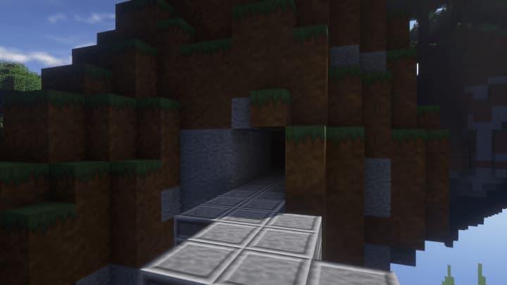 Entrée de caverne avec Architexture Realism