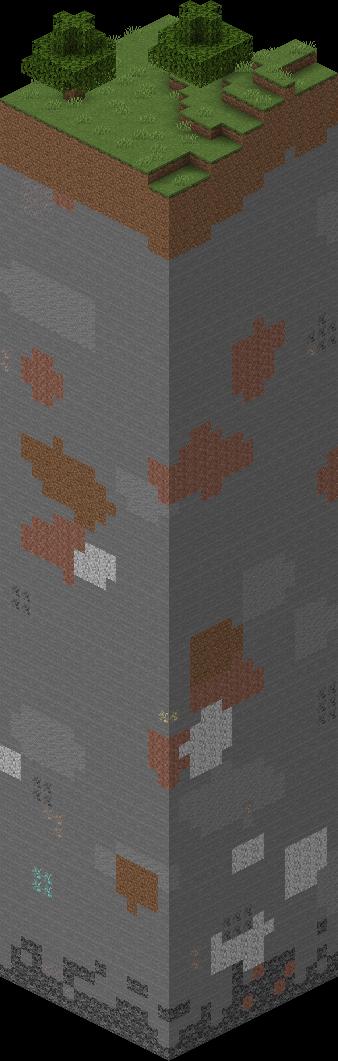 un chunk dans minecraft