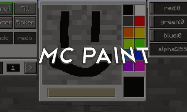 MC Paint – Mod – 1.14 → 1.16