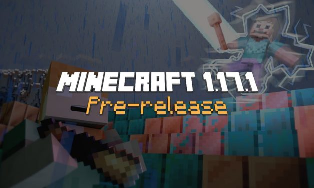 Minecraft 1.17.1 – Pre-release