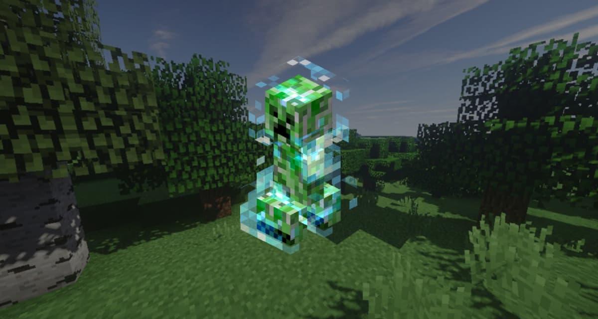 Comment trouver un creeper chargé dans Minecraft?