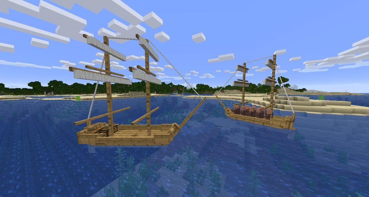 Brick du mod Small Ships