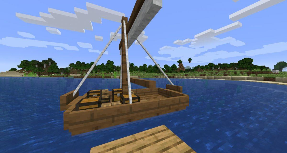 Voilier du mod Small Ships