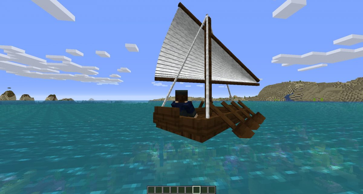 Galère du mod Small Ships
