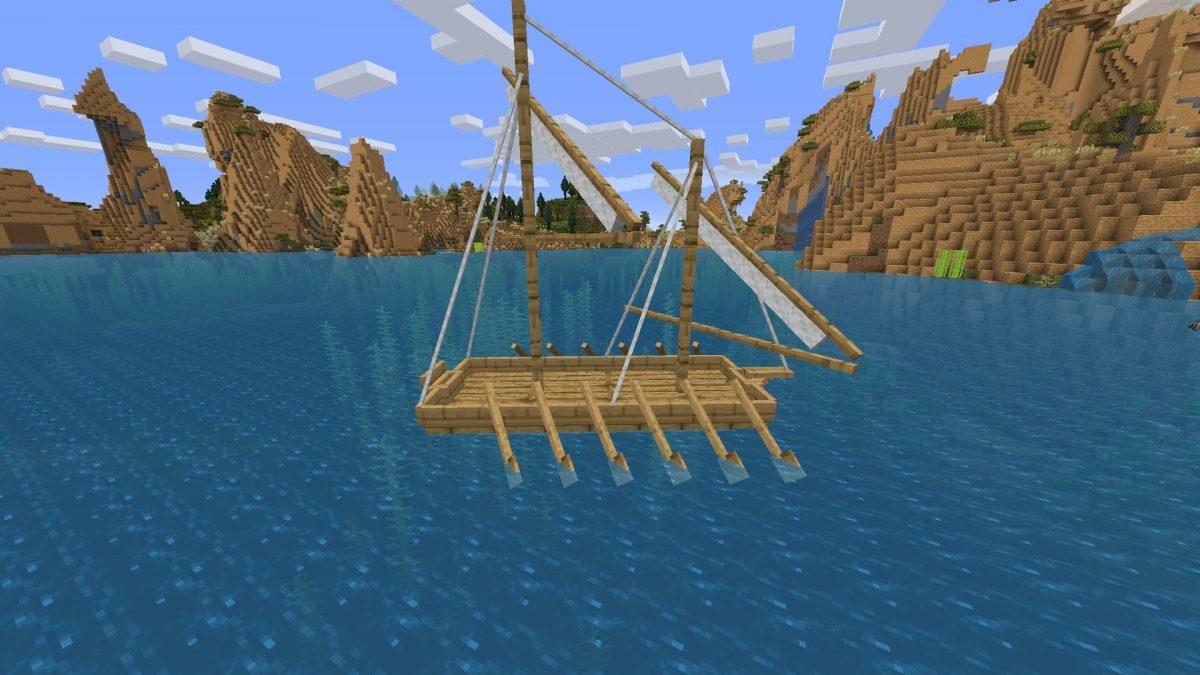 Galère de guerre du mod Small Ships