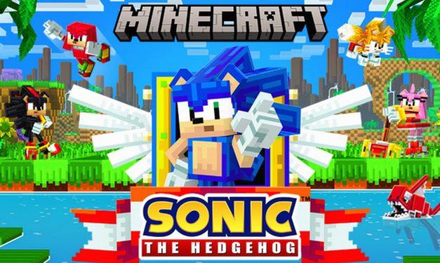 Sonic débarque sur Minecraft Bedrock en DLC