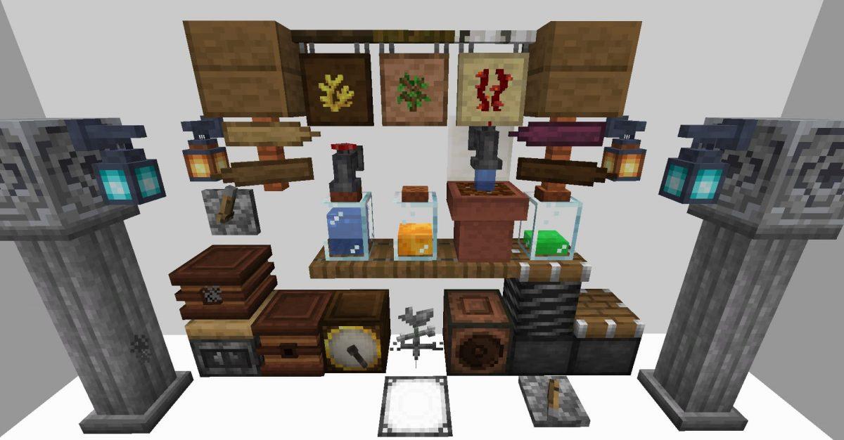Blocs décoratifs d'intérieur