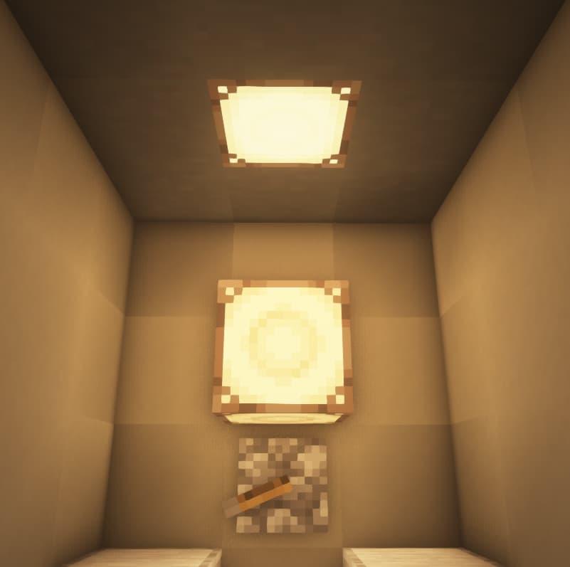 Nouvelle lampe à redstone