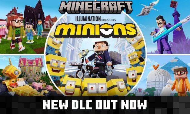 Les Minions mettent le chaos dans Minecraft Bedrock en DLC !