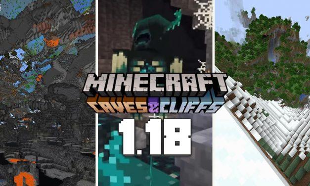 Minecraft 1.18 : date de sortie et contenu de la Caves & Cliffs partie 2