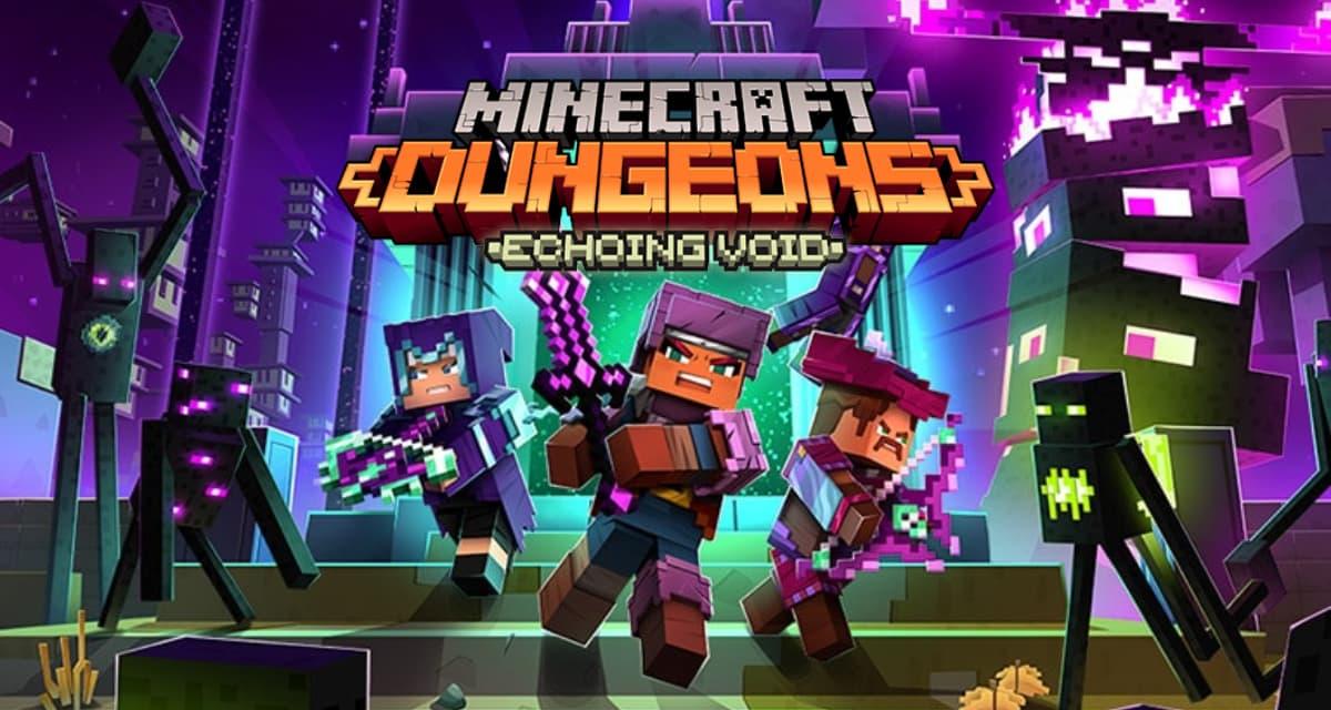 Le DLC 'Echoing Void' et l'édition ultimate de Minecraft Dungeons  sont maintenant disponibles