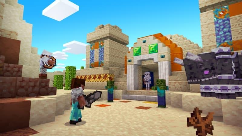 Temple du désert avec Vividity