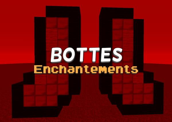 liste enchantement bottes minecraft
