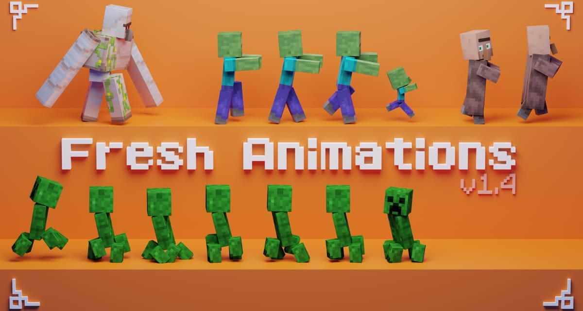 Fresh Animations – Pack de textures Minecraft – 1.13 → 1.17