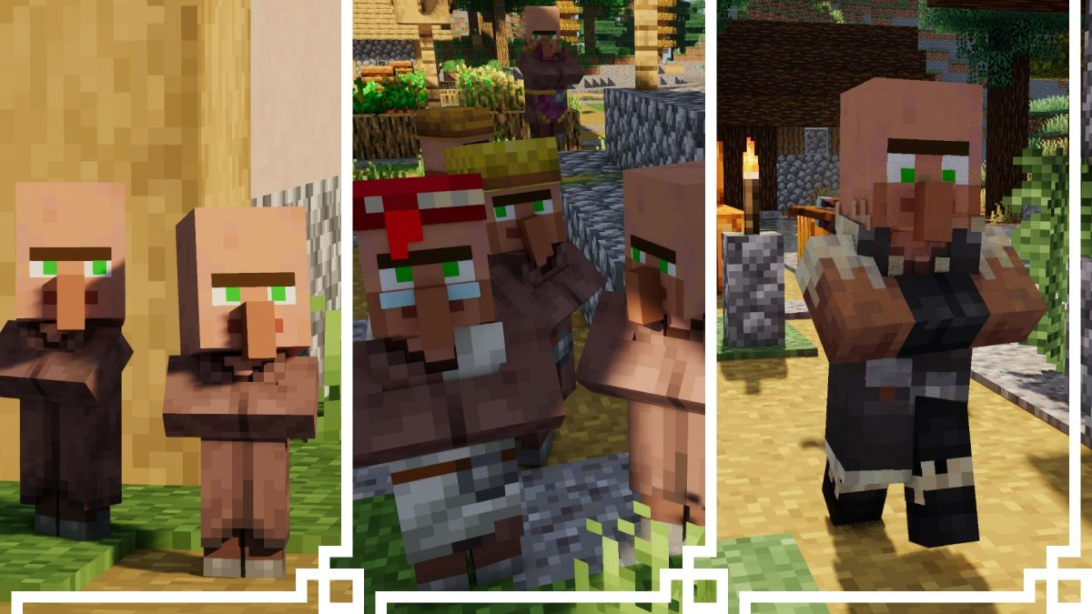 fresh animations villageois