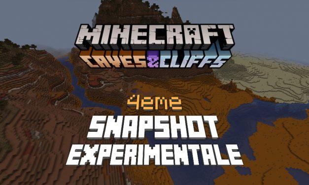 Minecraft 1.18 : Snapshot expérimentale n°4 – Changement de la génération des terrains