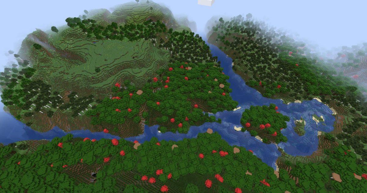 Génération rivière Minecraft snapshot expérimentale 4