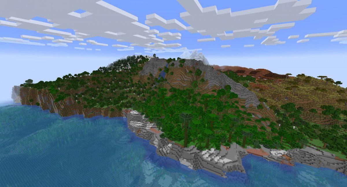 nouveau terrain 3ème snapshot expérimentale minecraft 1.18