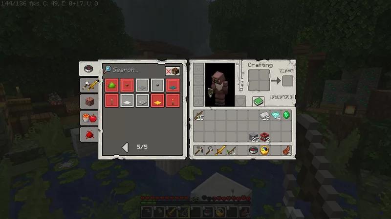 interface joueur