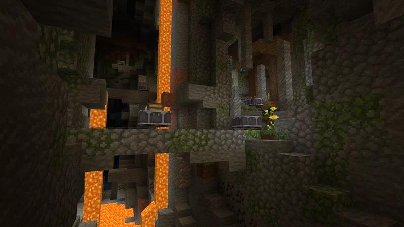 Mines et grottes