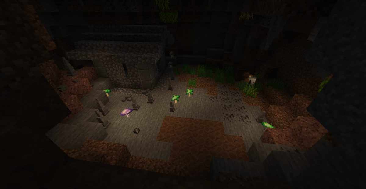 Abris - Mod Minecraft Extended Caves