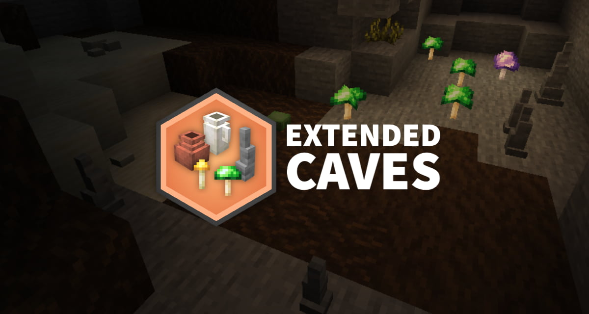 Extended Caves – Mod – 1.14 → 1.16