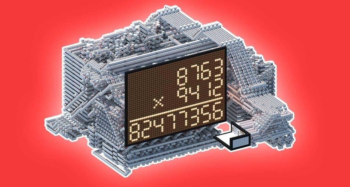 Ce joueur de Minecraft a construit une calculatrice en redstone extrêmement puissante