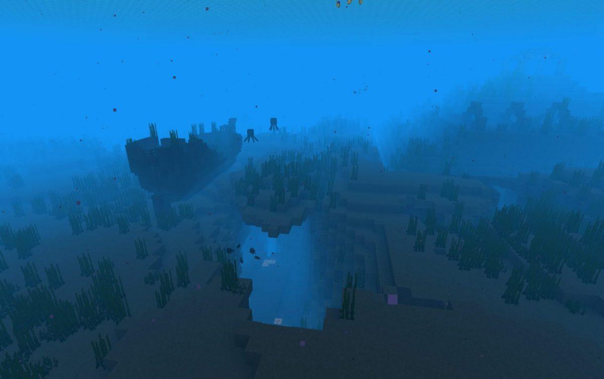 caves sous marins snapshot expérimentale 6 Minecraft 1.18