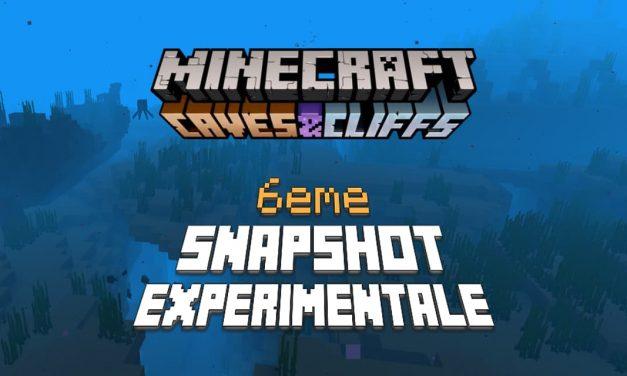 Minecraft 1.18 : Snapshot expérimentale n°6 – Modification de la génération des fonds marins