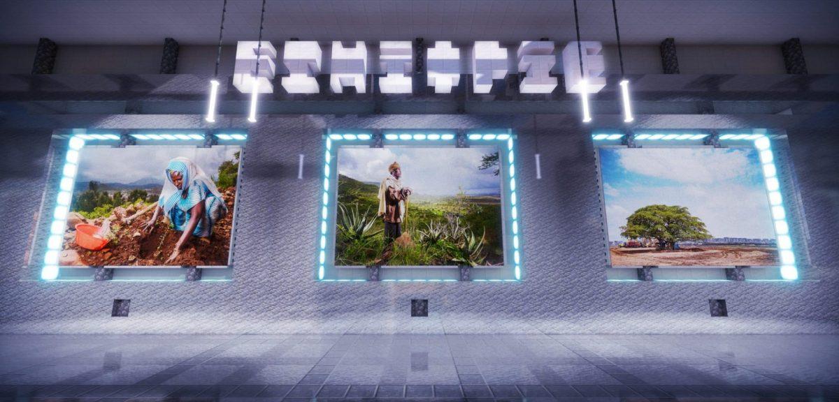 Le lobby du serveur avec 3 mini-jeux : France, Ethiopie et Equateur.