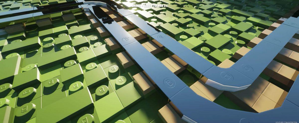 pack de texture minecraft lego brixel rail