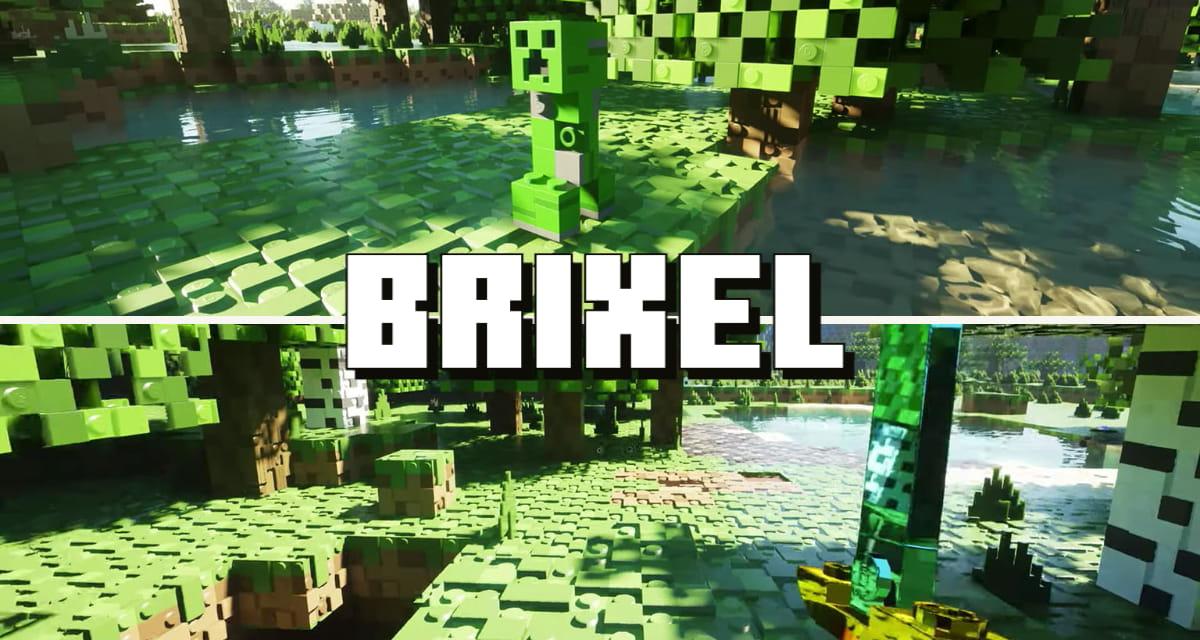 Ce pack de textures transforme Minecraft en jeu LEGO – Brixel