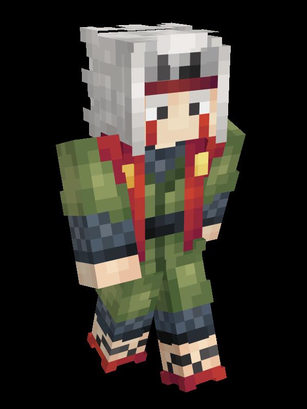 skin minecraft naruto : jiraya