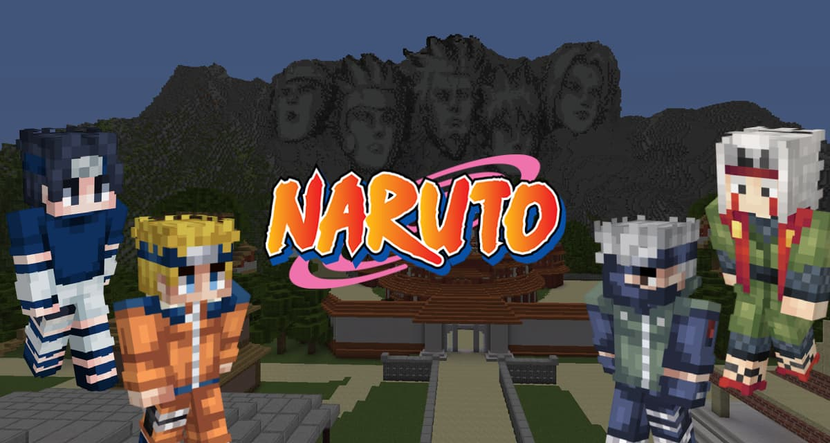 Sélection de skins Minecraft Naruto