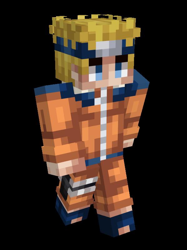 skin minecraft naruto :