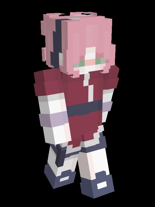 skin minecraft sakura
