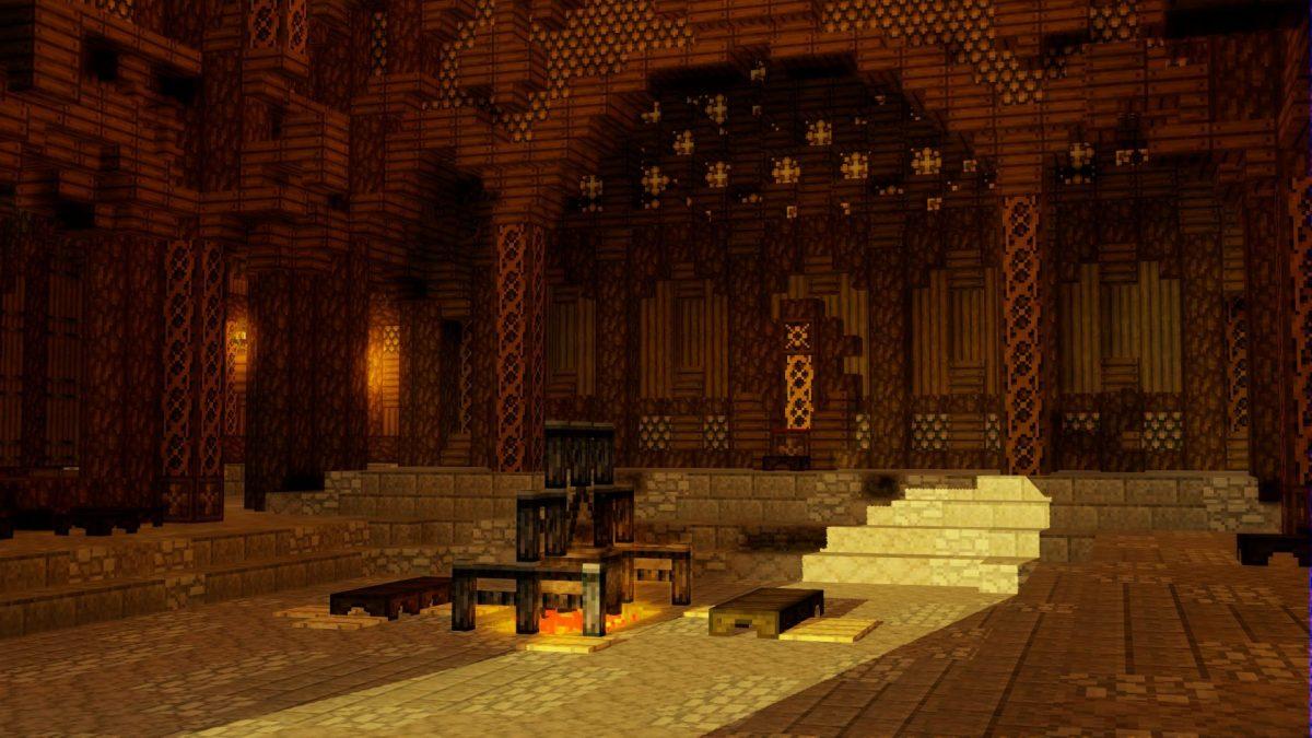 Throne du Rohan, Edoras