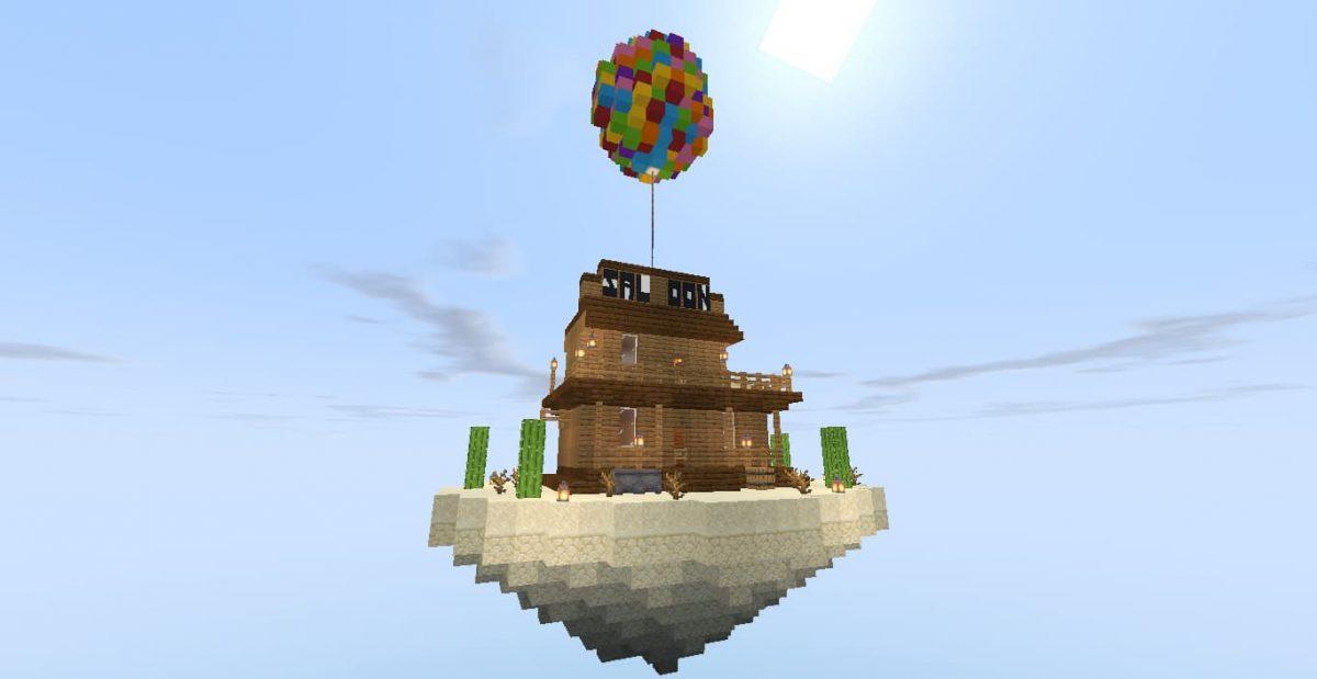 Île volante de Toilet Survival