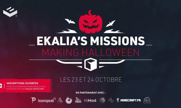 Ekalia's Mission: Making Halloween – Événement Minecraft