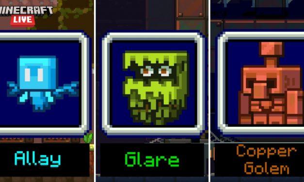 Minecraft Live 2021 : votez pour le prochain mob qui sera ajouté à Minecraft