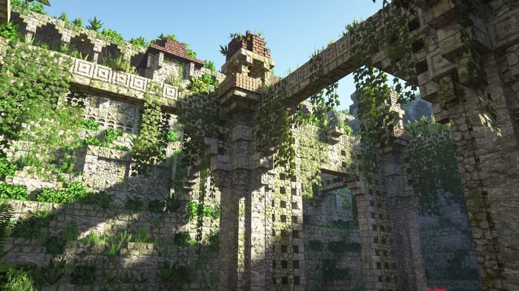 Ruines avec Patrix Resource Pack