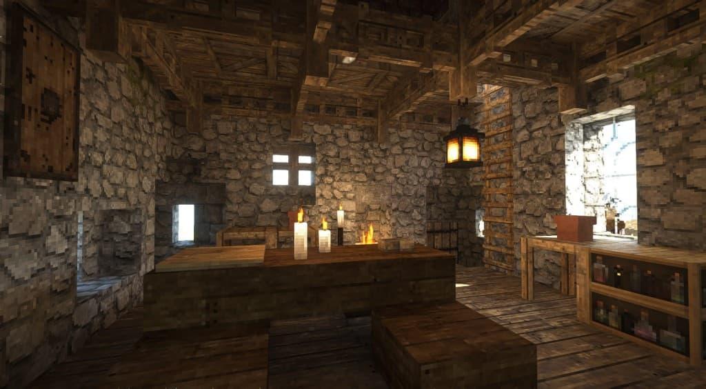 Taverne avec Patrix Resource Pack