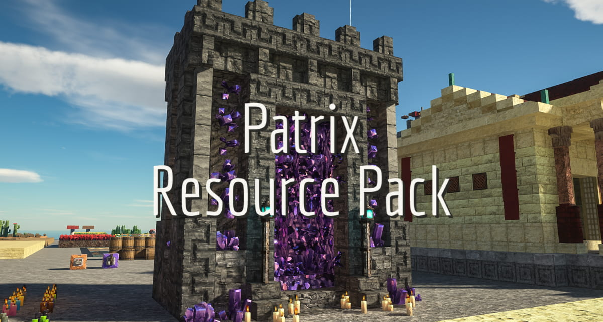 Patrix Resource Pack – 1.15 → 1.17