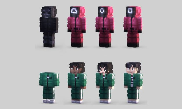 Sélection de skins Minecraft Squid Game